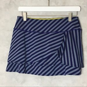 Athleta Blue and Gray Skort Size Small